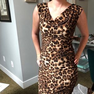 INC Leopard Print Dress